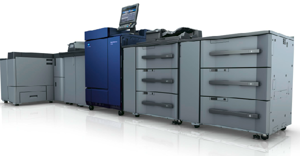 New digital presses from Konica Minolta
