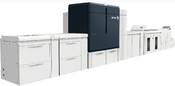 Xerox new 6 colour Press with in line finishing